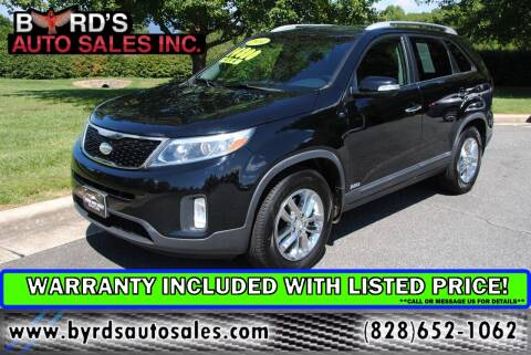 2014 Kia Sorento for sale at Byrds Auto Sales in Marion NC