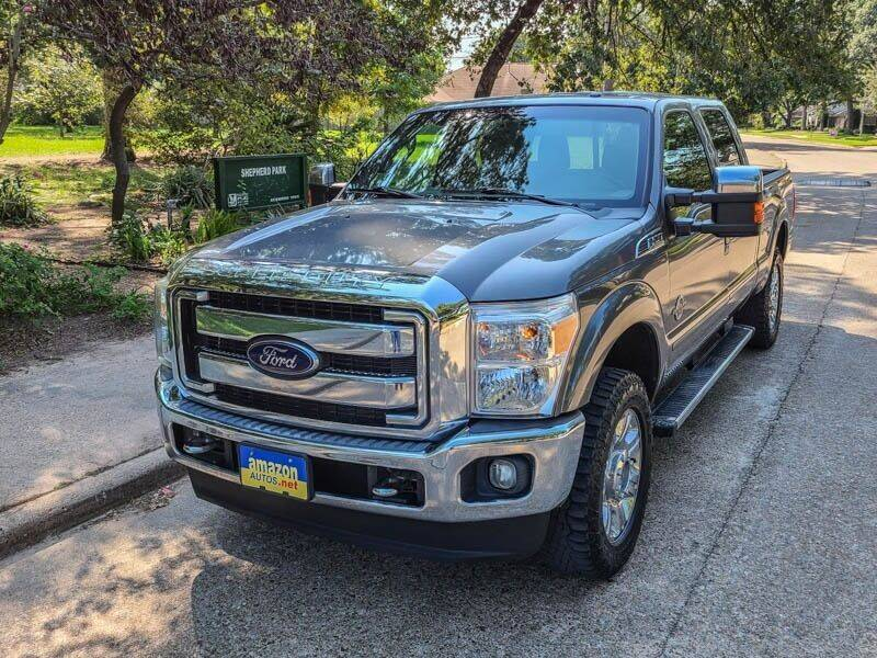 2012 Ford F-250 Super Duty for sale at Amazon Autos in Houston TX