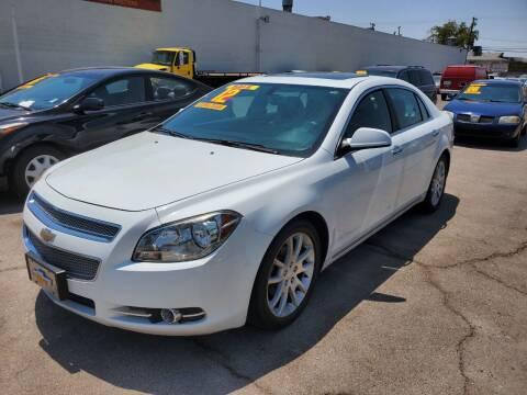 2012 Chevrolet Malibu for sale at TJ Motors in Las Vegas NV