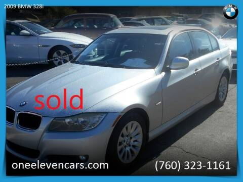 2009 BMW 3 Series for sale at One Eleven Vintage Cars in Palm Springs CA