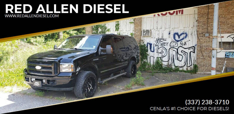 2005 Ford Excursion for sale at RED ALLEN DIESEL in Anacoco LA