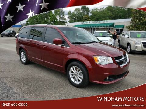 2018 Dodge Grand Caravan for sale at Windham Motors in Florence SC