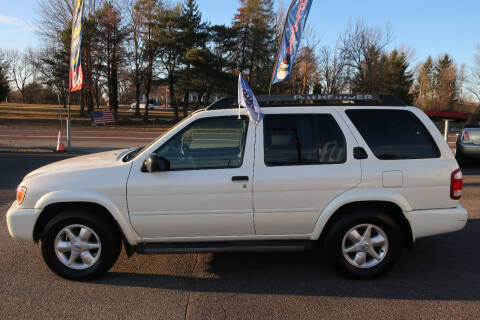 2002 Nissan Pathfinder for sale at GEG Automotive in Gilbertsville PA
