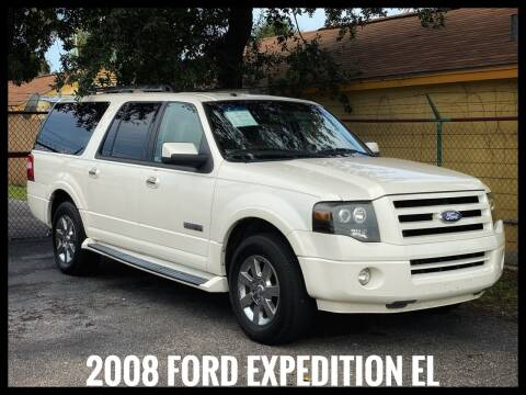 2008 Ford Expedition EL for sale at ASTRO MOTORS in Houston TX