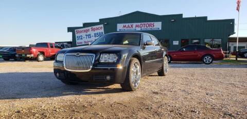 2010 Chrysler 300 for sale at Max Motors in Corpus Christi TX