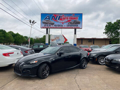 2014 Lexus IS 250 for sale at ANF AUTO FINANCE in Houston TX