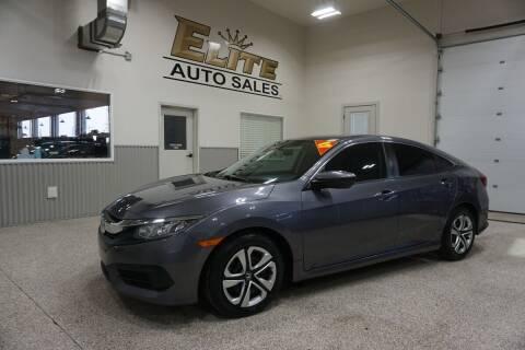 2017 Honda Civic for sale at Elite Auto Sales in Ammon ID
