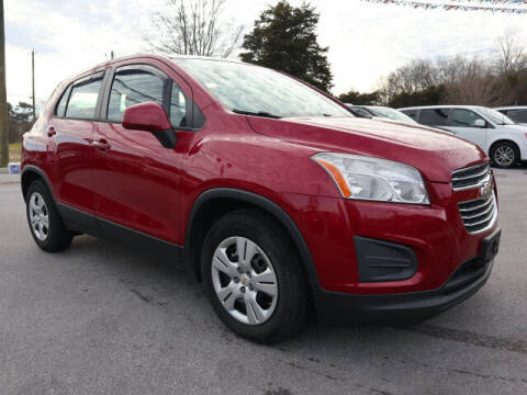 2015 Chevrolet Trax for sale at Viles Automotive in Knoxville TN