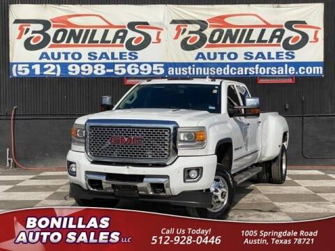 2015 GMC Sierra 3500HD for sale at Bonillas Auto Sales in Austin TX