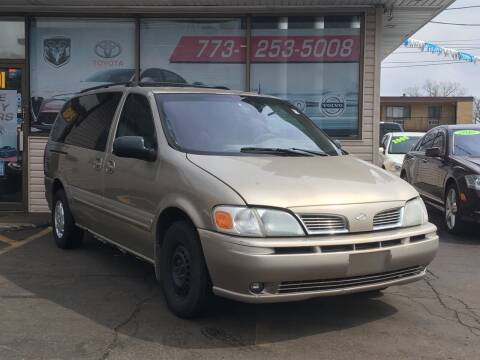 2001 Oldsmobile Silhouette for sale at TOP YIN MOTORS in Mount Prospect IL