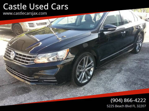 2016 Volkswagen Passat for sale at Castle Used Cars in Jacksonville FL