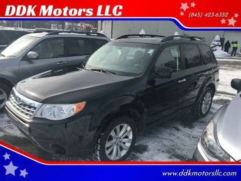 2011 Subaru Forester for sale at DDK Motors LLC in Rock Hill NY