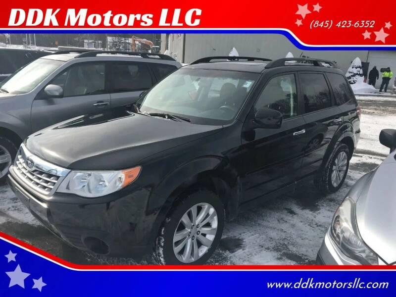 2011 Subaru Forester for sale at DDK Motors LLC in Rock Hill NY