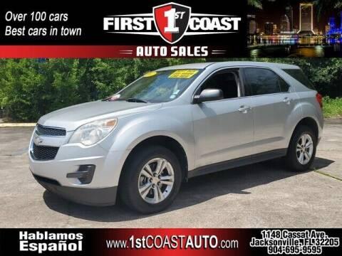 2012 Chevrolet Equinox for sale at 1st Coast Auto -Cassat Avenue in Jacksonville FL