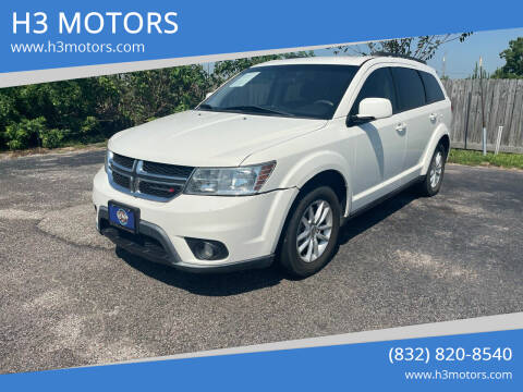 2013 Dodge Journey for sale at H3 MOTORS in Dickinson TX