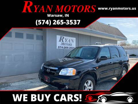 2005 Mazda Tribute for sale at Ryan Motors LLC in Warsaw IN