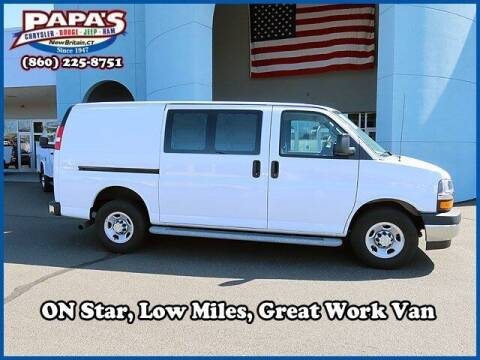2019 Chevrolet Express Cargo for sale at Papas Chrysler Dodge Jeep Ram in New Britain CT