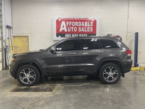 2019 Jeep Grand Cherokee for sale at Affordable Auto Sales in Humphrey NE