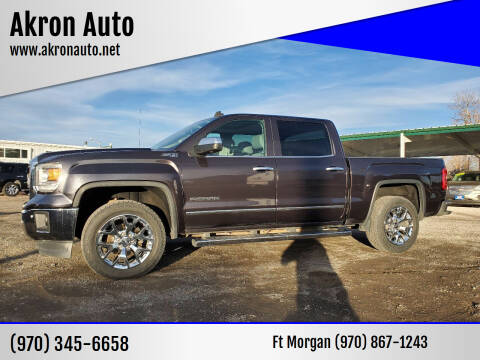 2014 GMC Sierra 1500 for sale at Akron Auto in Akron CO