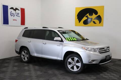 2012 Toyota Highlander for sale at Carousel Auto Group in Iowa City IA
