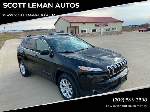 2017 Jeep Cherokee for sale at SCOTT LEMAN AUTOS in Goodfield IL