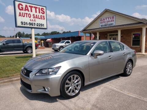 2015 Lexus GS 350 for sale at Gattis Auto Sales LLC in Winchester TN
