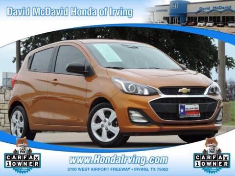 2020 Chevrolet Spark for sale at DAVID McDAVID HONDA OF IRVING in Irving TX