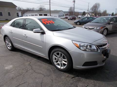 2014 Chevrolet Malibu for sale at Dansville Radiator in Dansville NY