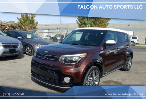 2017 Kia Soul for sale at Falcon Auto Sports LLC in Murray UT