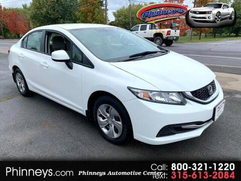 2013 Honda Civic for sale at Phinney's Automotive Center in Clayton NY
