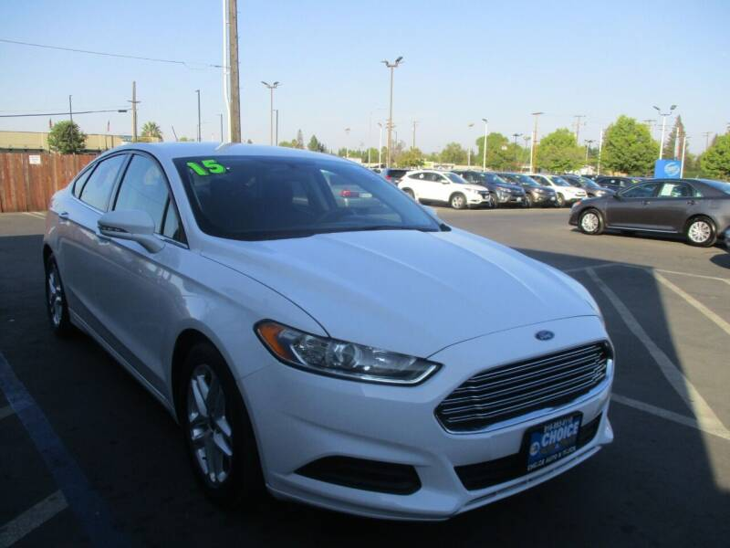 2015 Ford Fusion for sale at Choice Auto & Truck in Sacramento CA