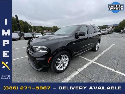 2021 Dodge Durango for sale at Impex Auto Sales in Greensboro NC