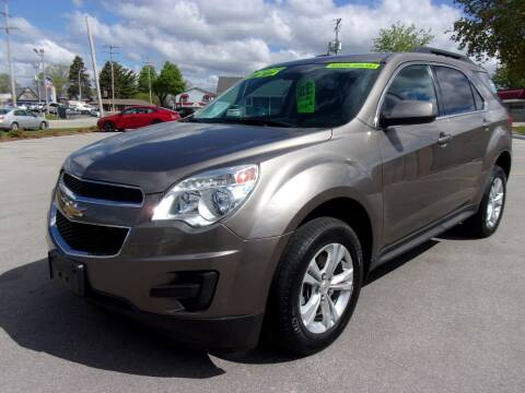 2012 Chevrolet Equinox for sale at Ideal Auto Sales, Inc. in Waukesha WI