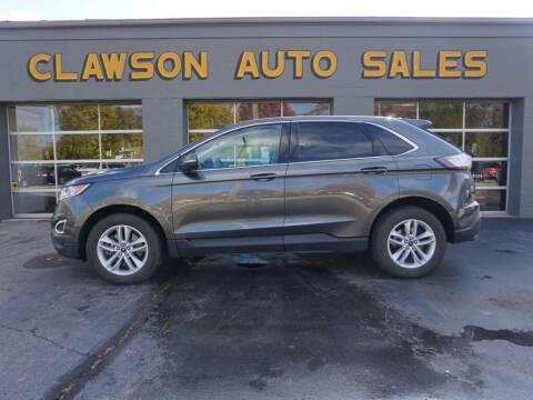 2016 Ford Edge for sale at Clawson Auto Sales in Clawson MI