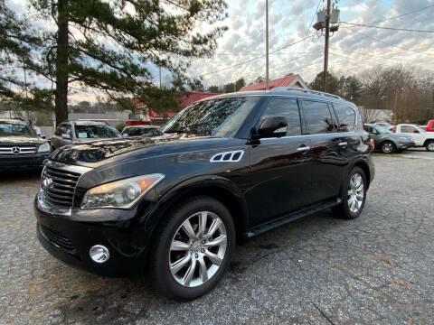 2011 Infiniti QX56 for sale at Car Online in Roswell GA