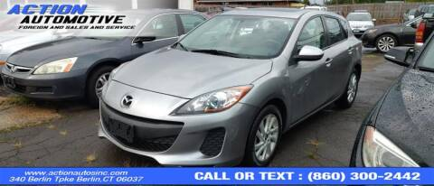 2013 Mazda MAZDA3 for sale at Action Automotive Inc in Berlin CT