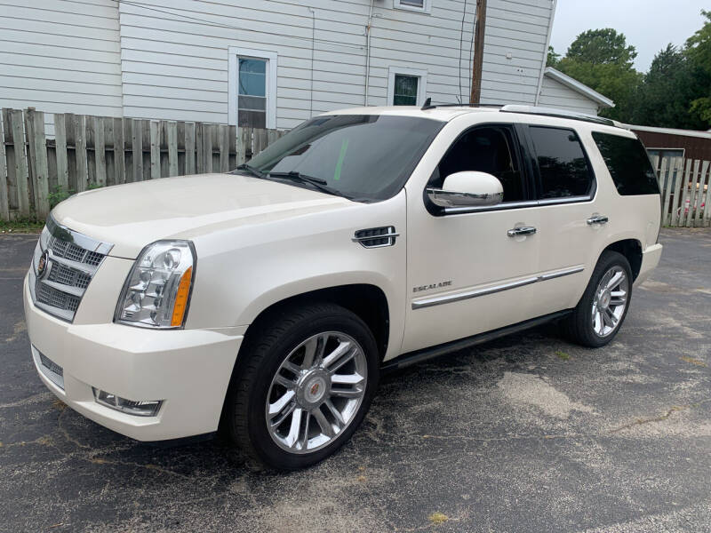 2012 Cadillac Escalade for sale at PAPERLAND MOTORS - Fresh Inventory in Green Bay WI