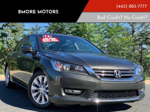 2013 Honda Accord for sale at Bmore Motors in Baltimore MD