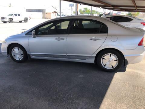 2008 Honda Civic for sale at Kann Enterprises Inc. in Lovington NM