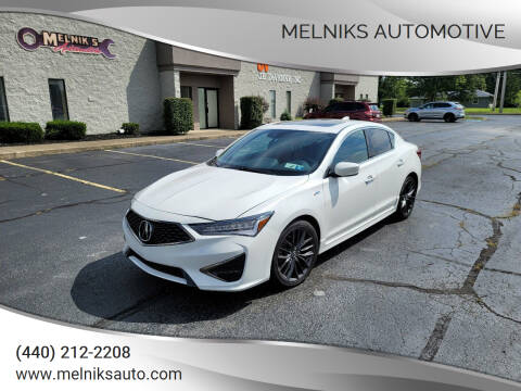 2020 Acura ILX for sale at Melniks Automotive in Berea OH