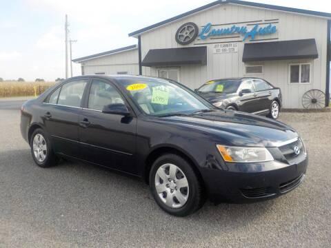 2008 Hyundai Sonata for sale at Country Auto in Huntsville OH