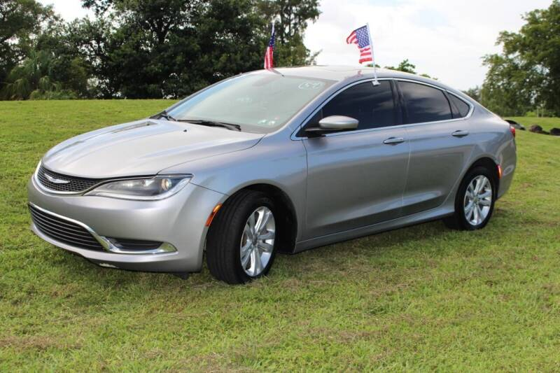 2015 Chrysler 200 for sale at CHASE MOTOR in Miami FL