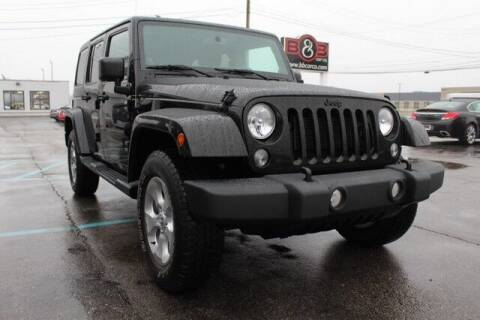 2014 Jeep Wrangler Unlimited for sale at B & B Car Co Inc. in Clinton Twp MI