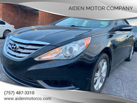 2013 Hyundai Sonata for sale at Aiden Motor Company in Portsmouth VA