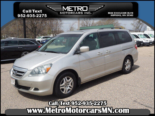 2007 Honda Odyssey for sale at Metro Motorcars Inc in Hopkins MN