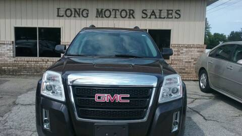 2014 GMC Terrain for sale at Long Motor Sales in Tecumseh MI