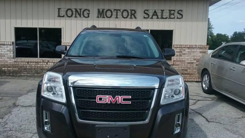 2014 GMC Terrain for sale at Long Motor Sales in Tecumseh MI