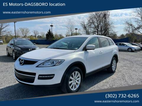 2009 Mazda CX-9 for sale at ES Motors-DAGSBORO location in Dagsboro DE
