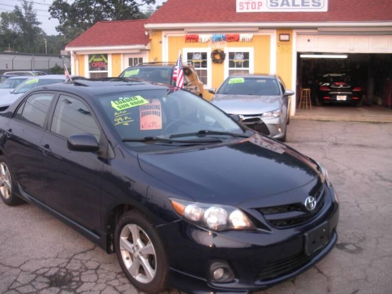 2011 Toyota Corolla for sale at One Stop Auto Sales in North Attleboro MA