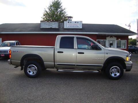 2004 Dodge Ram Pickup 1500 for sale at G and G AUTO SALES in Merrill WI